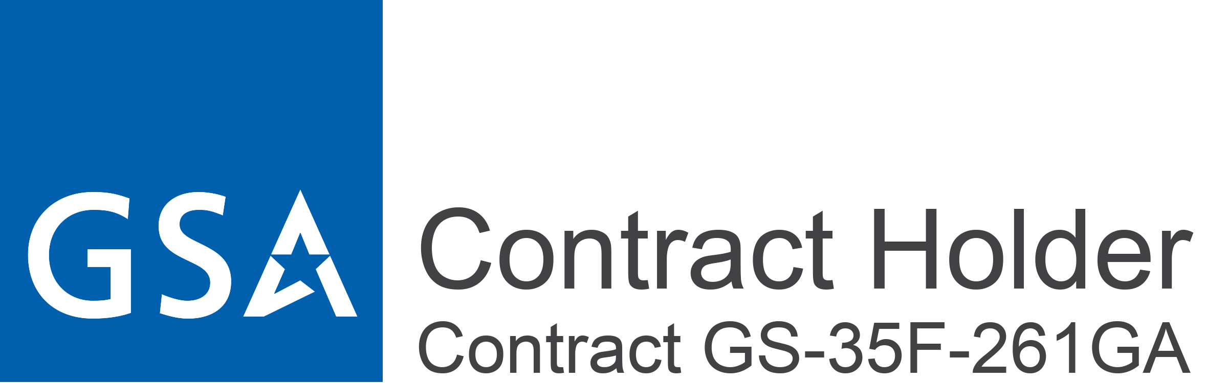 GSA Contract Holder, Contract GS-35F-261GA